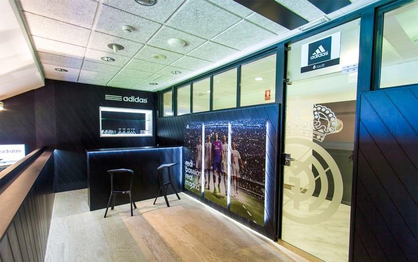 Palco VIP Adidas en el Santiago Bernabéu 0