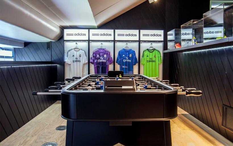 Palco VIP Adidas en el Santiago Bernabéu 4