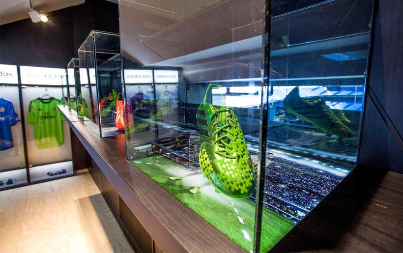 Palco VIP Adidas en el Santiago Bernabéu 6