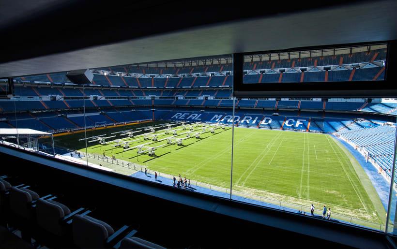Palco VIP Adidas en el Santiago Bernabéu 9