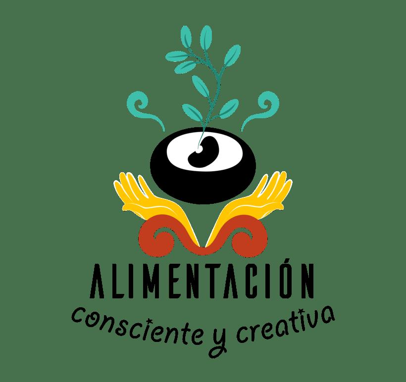 """Branding de """"Alimentación consciente y creativa"""" 2"""