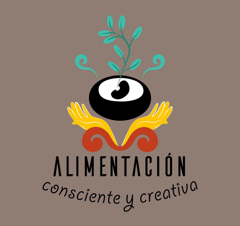 """Branding de """"Alimentación consciente y creativa"""" 1"""