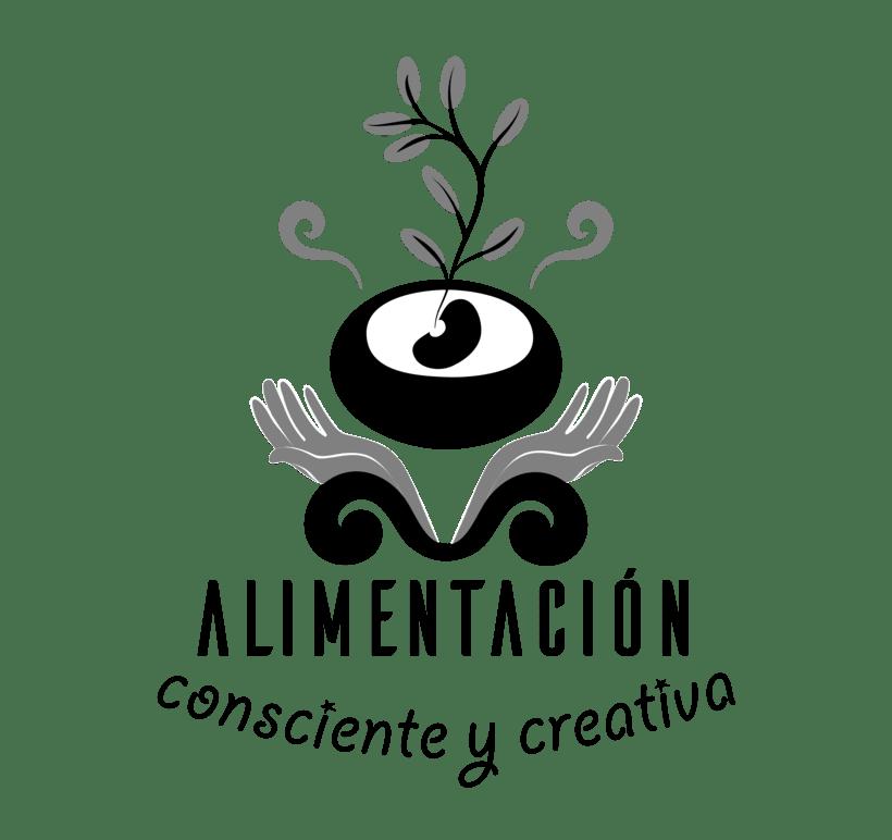 """Branding de """"Alimentación consciente y creativa"""" 4"""