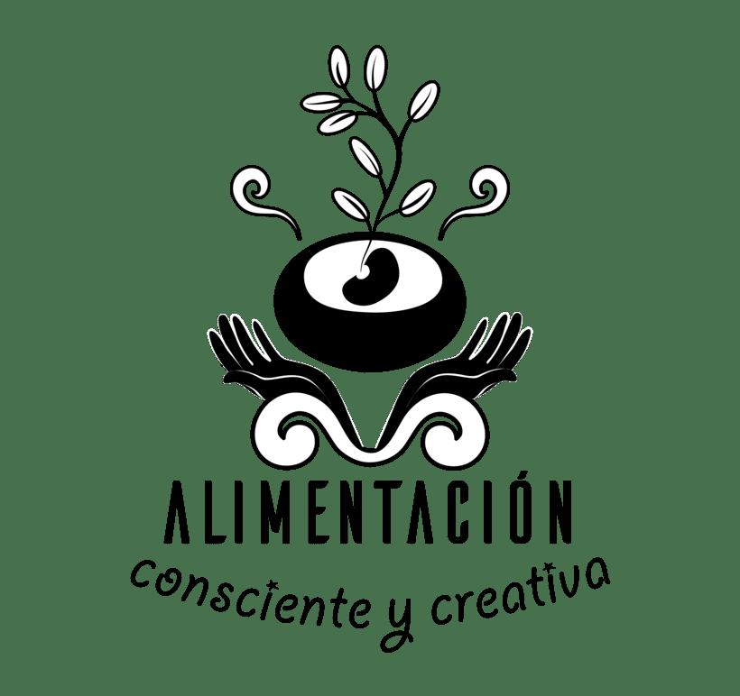 """Branding de """"Alimentación consciente y creativa"""" 6"""