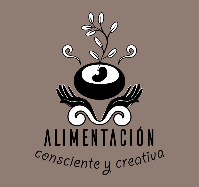 """Branding de """"Alimentación consciente y creativa"""" 3"""