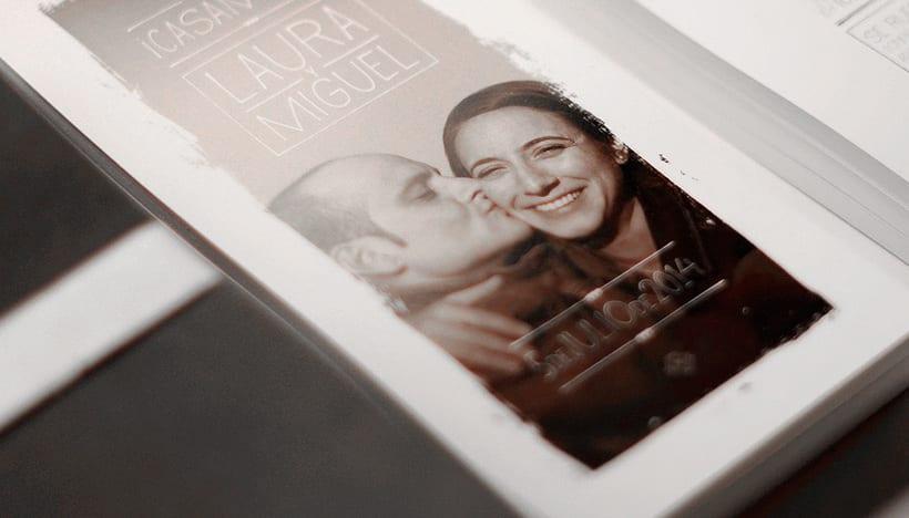Invitaciones de boda: Laura y Miguel 4
