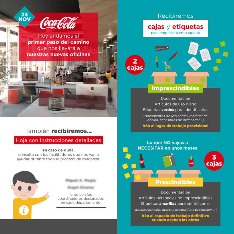 Coca-Cola. Nuevas oficinas 6