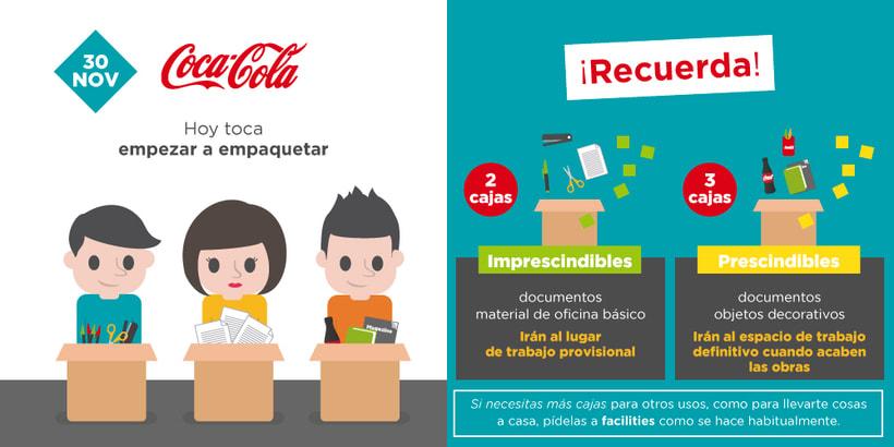 Coca-Cola. Nuevas oficinas 10