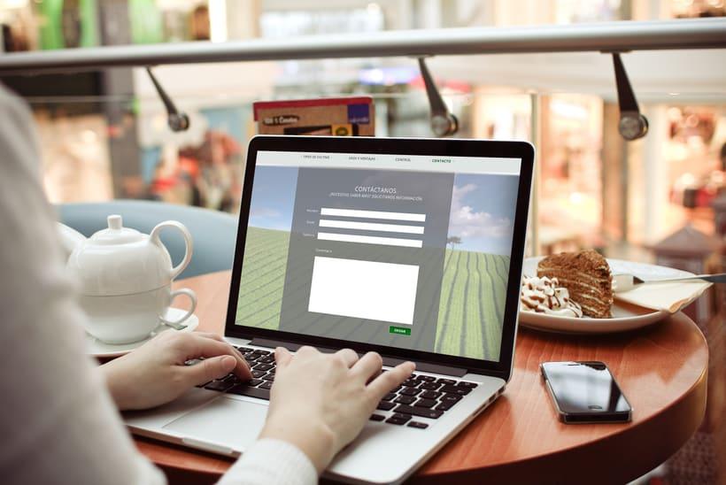 Diseño de página web 4