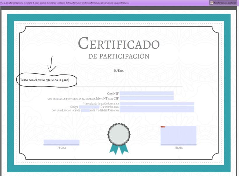 Personalizar textos en PDF interactivo 1