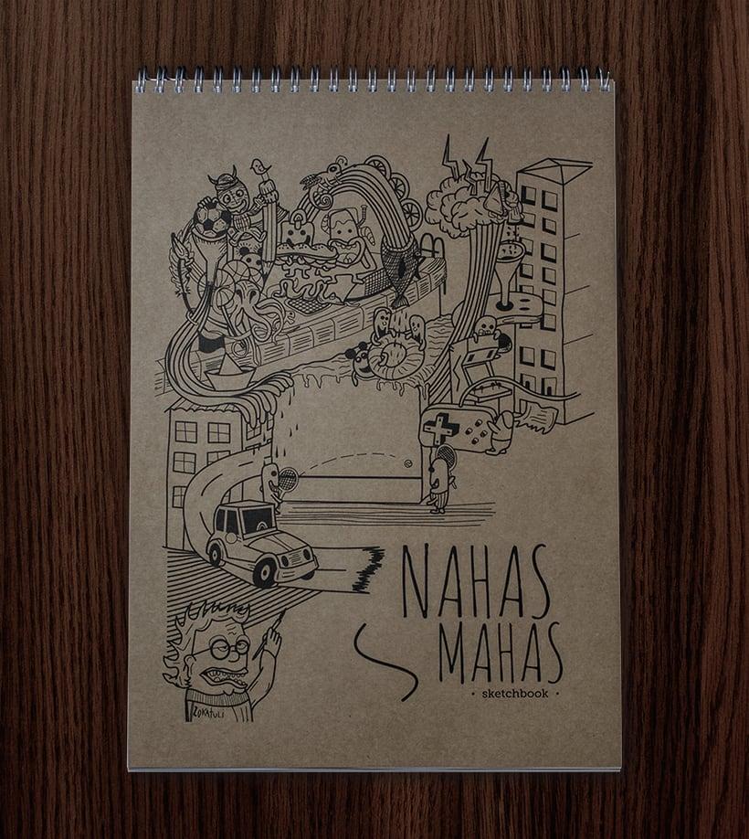 Nahas mahas sketchbook 0