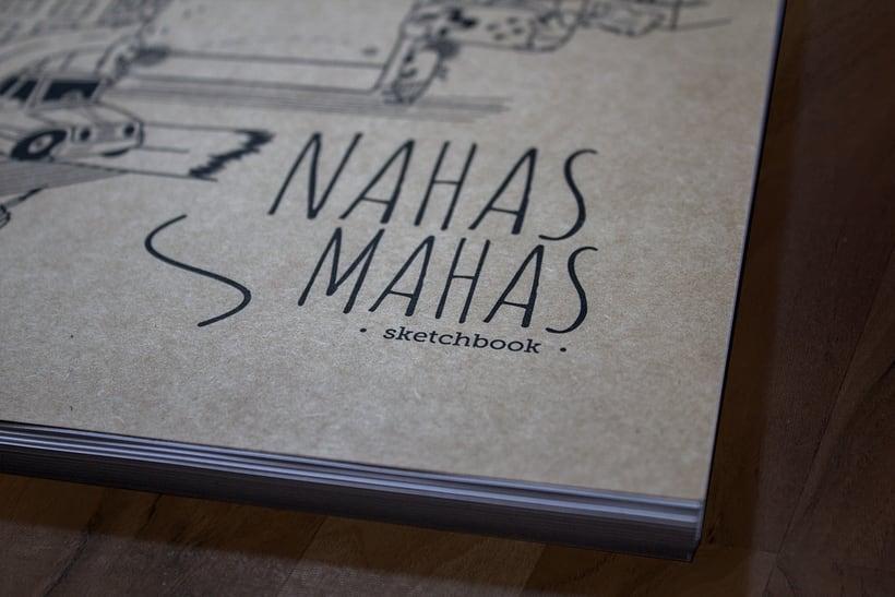 Nahas mahas sketchbook 1