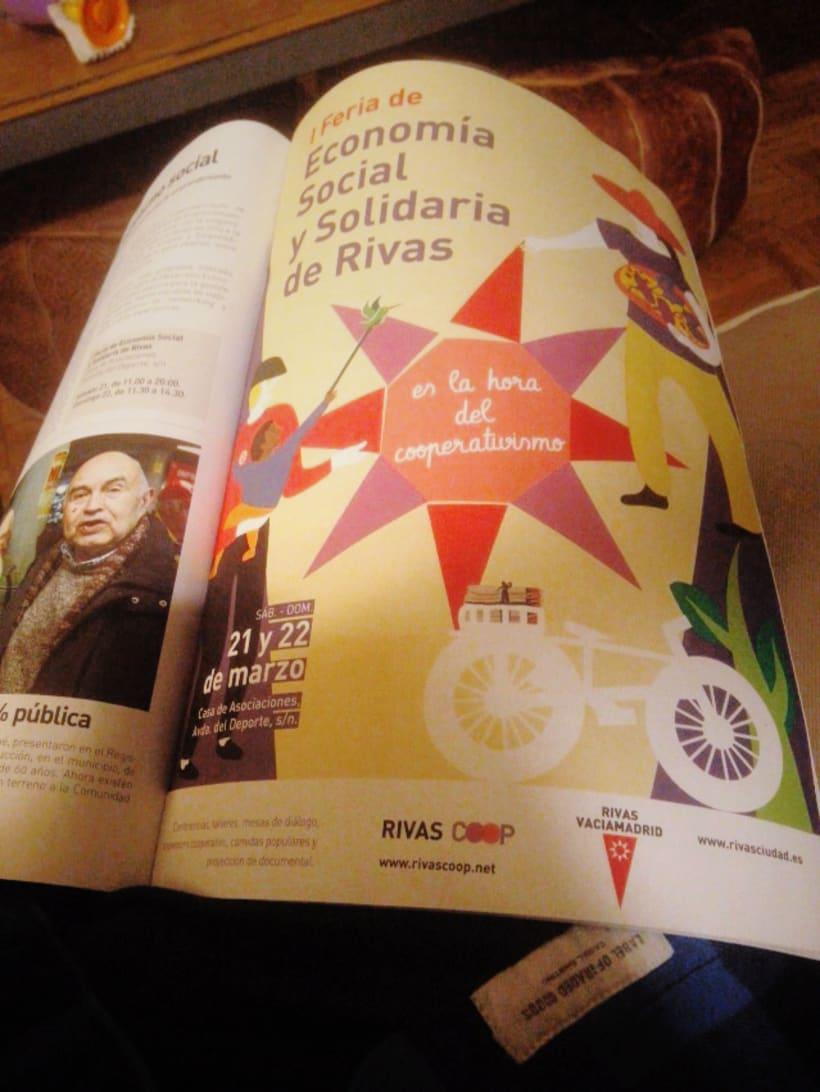 Ilustración I Feria de Economía Social y Solidaria de Rivas 2