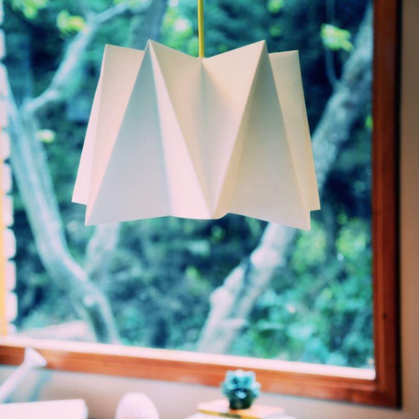 LIHUEN Lámpara de Origami 0