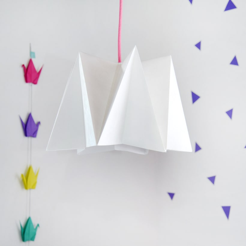 LIHUEN Lámpara de Origami 1