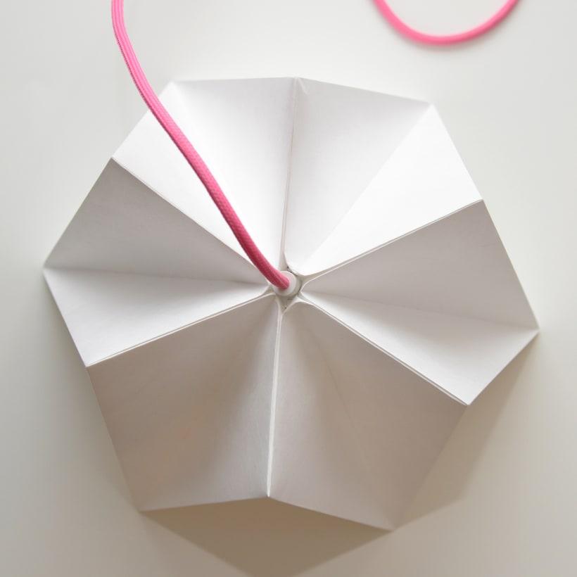LIHUEN Lámpara de Origami 2