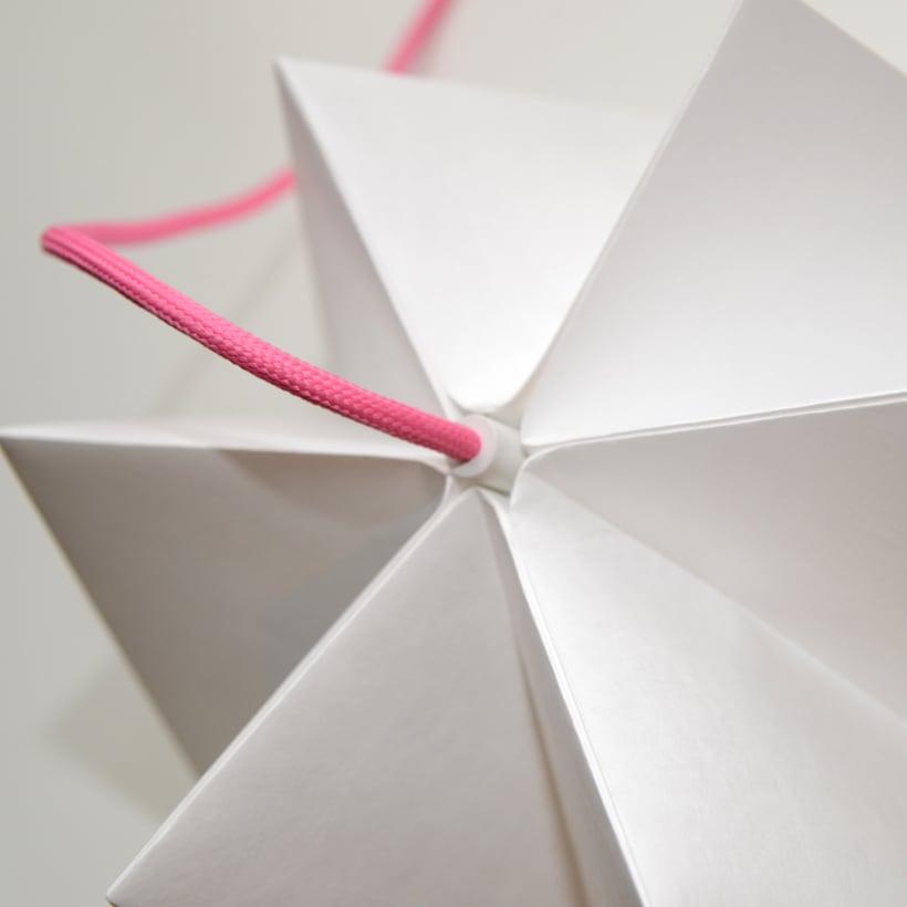 LIHUEN Lámpara de Origami 3