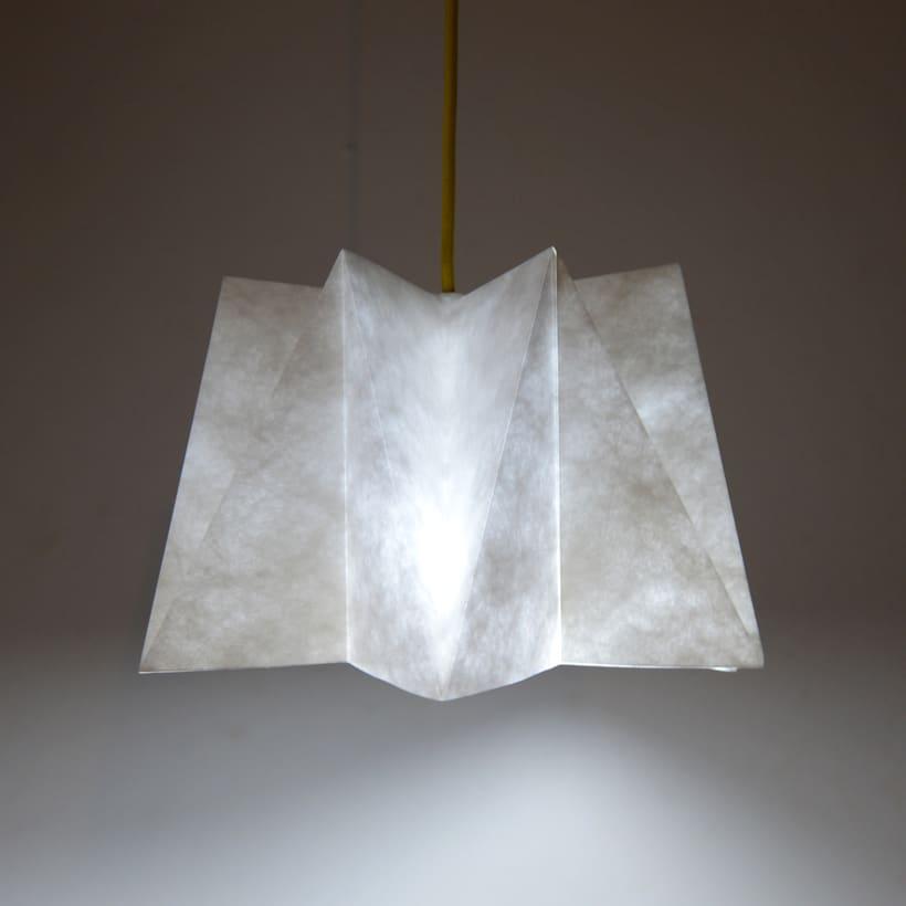 LIHUEN Lámpara de Origami 4