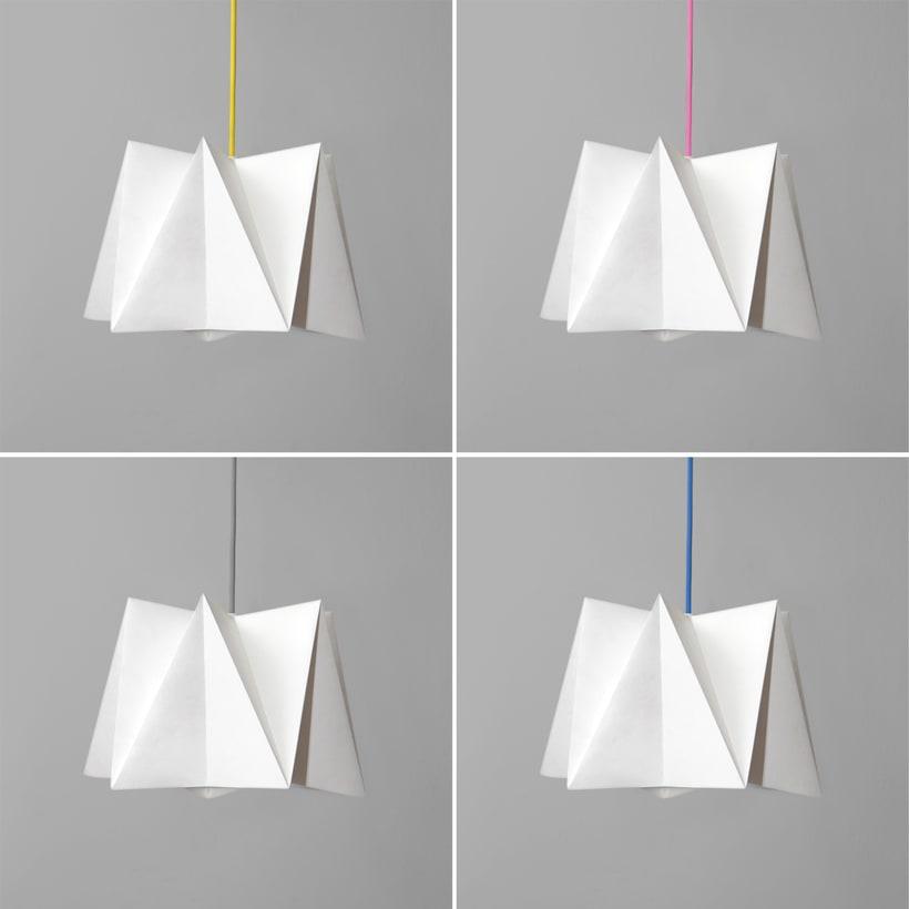LIHUEN Lámpara de Origami 5