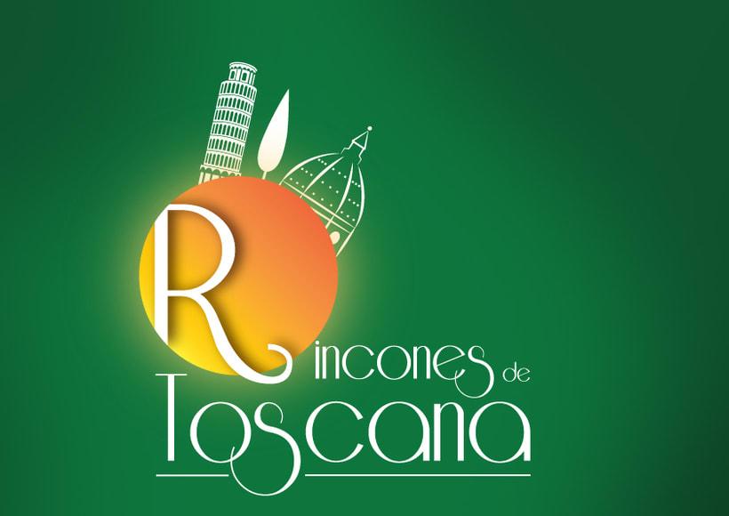 Logo para Agencia de viaje especalizada en viajes a Toscana -1