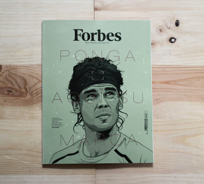 Forbes | Cover illustration 3
