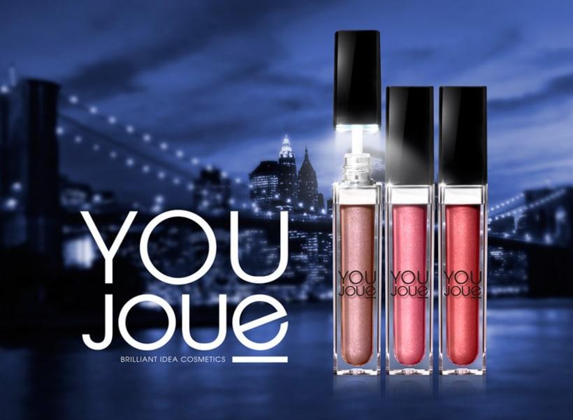 Youjoue. Nombre para una gama de cosméticos -1