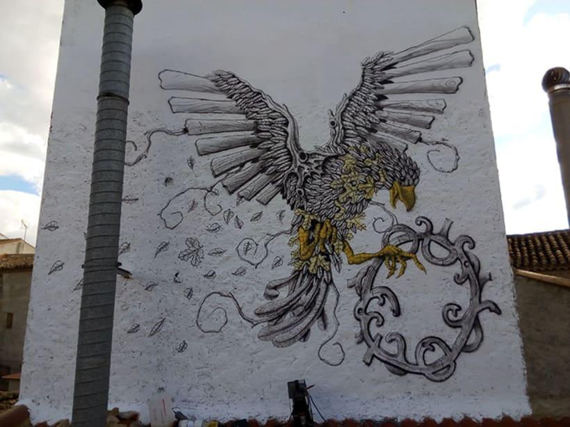 Aerografía pájaro 5