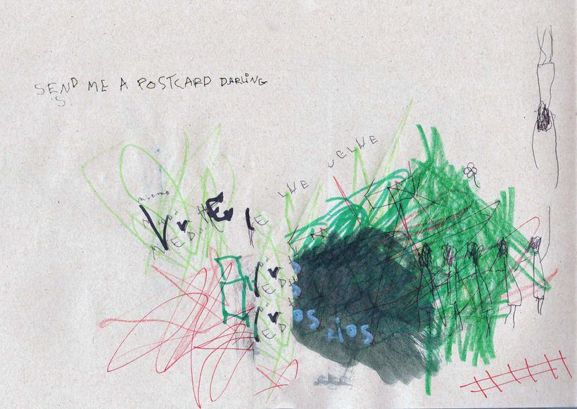 Send me a postcard darling. 3
