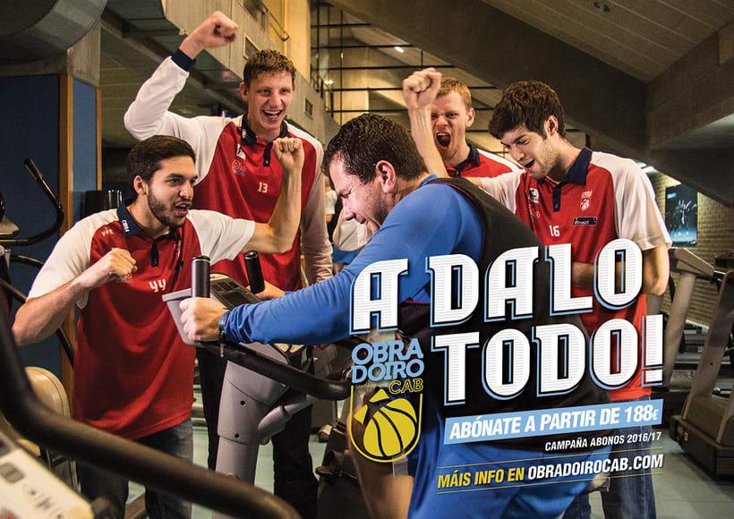 Campaña Abonos 2016/17 para el Obradoiro CAB 0