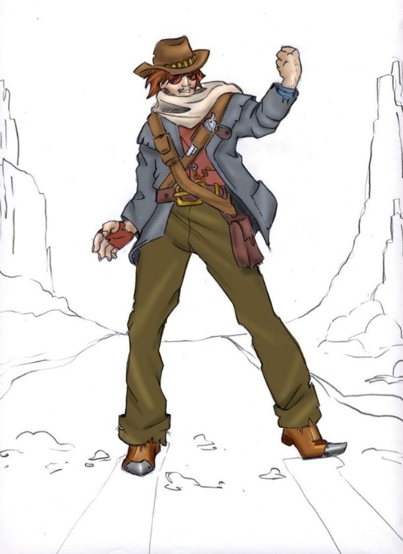Ilustración: Diseño de Personajes / Adhesivos 9