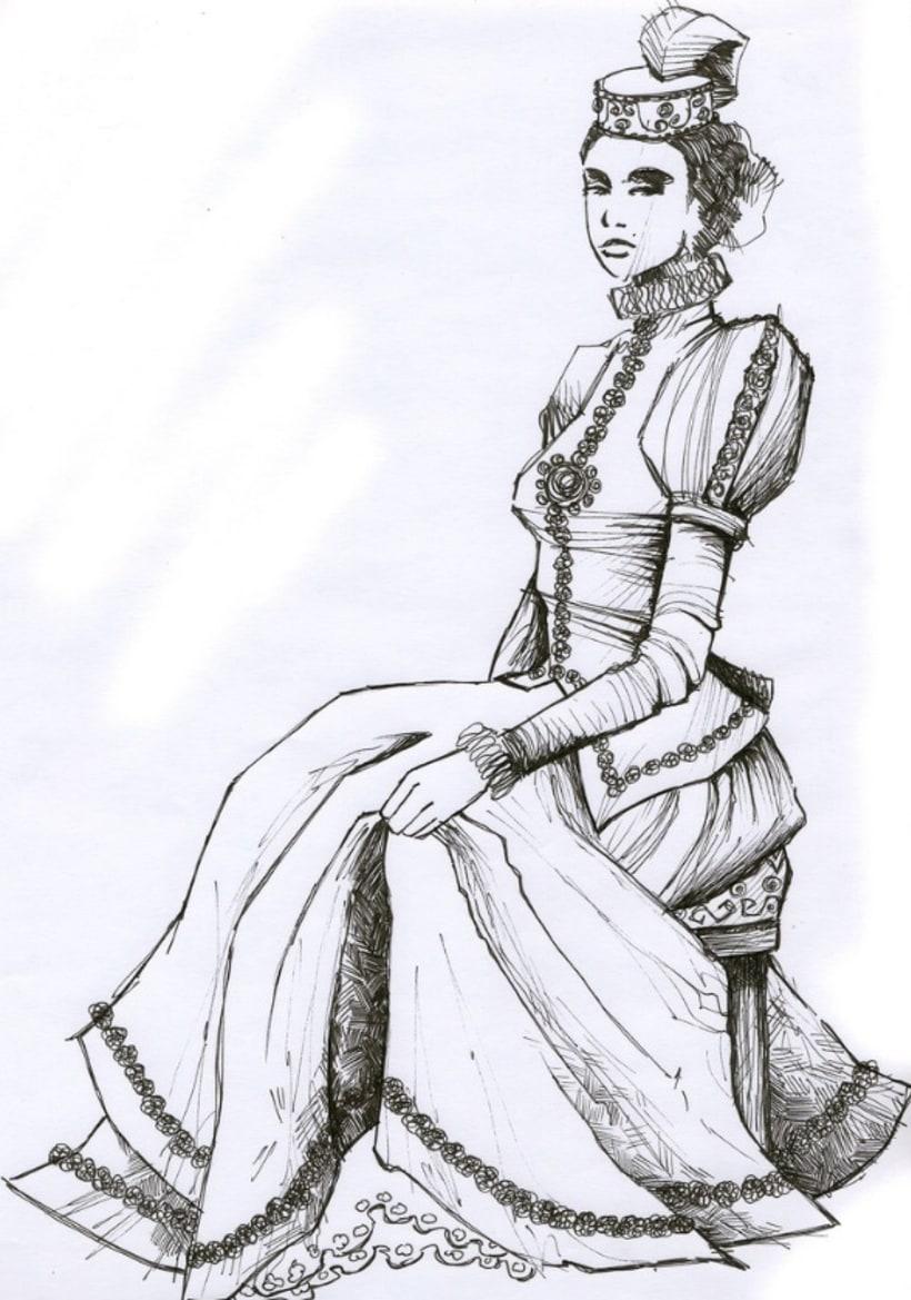 Ilustración: Diseño de Personajes / Adhesivos 8