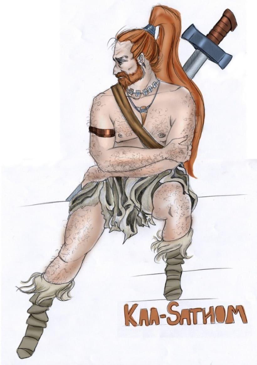 Ilustración: Diseño de Personajes / Adhesivos 11