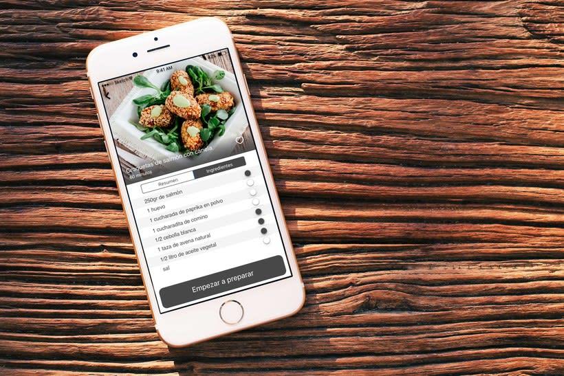 App de Recetas para iOS 1
