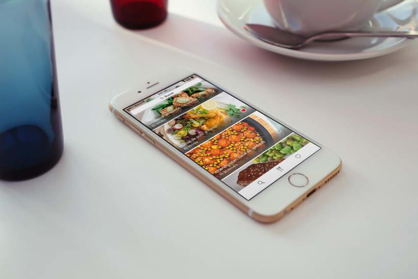 App de Recetas para iOS 0