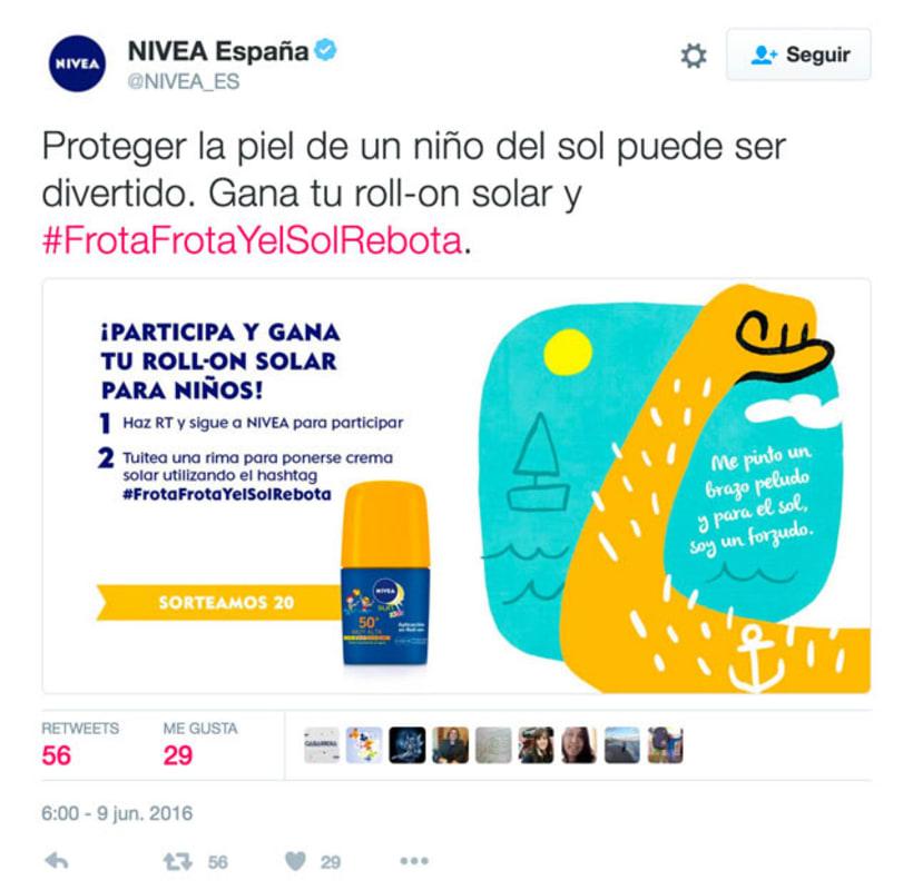 NIVEA SUN ROLL-ON Frota, frota 14