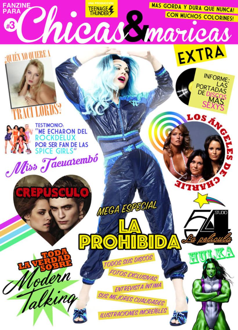 Fanzine para Chicas & Maricas #3 0