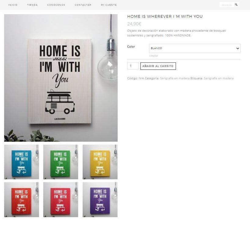 lovewood.es, mi tienda online de cuadros de serigrafía sobre madera. 1