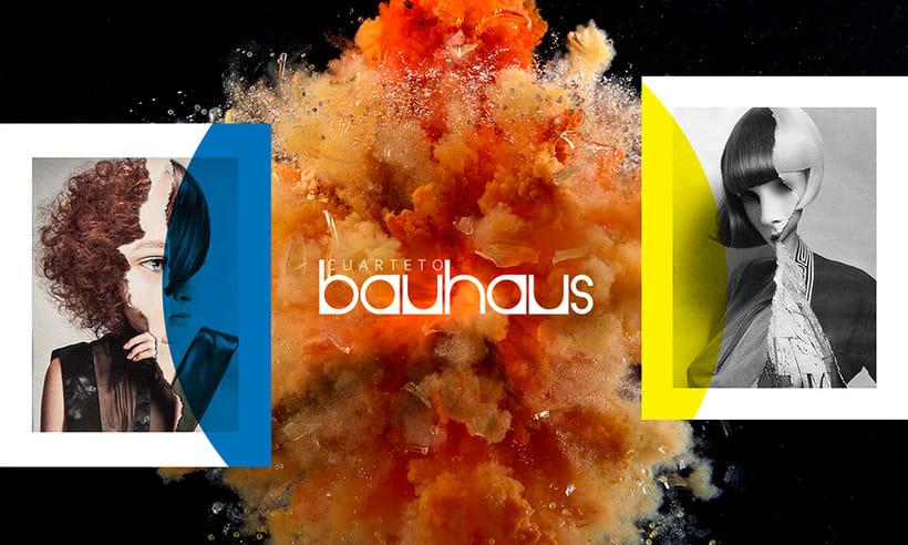 Cuarteto Bauhaus | Logotipo 2