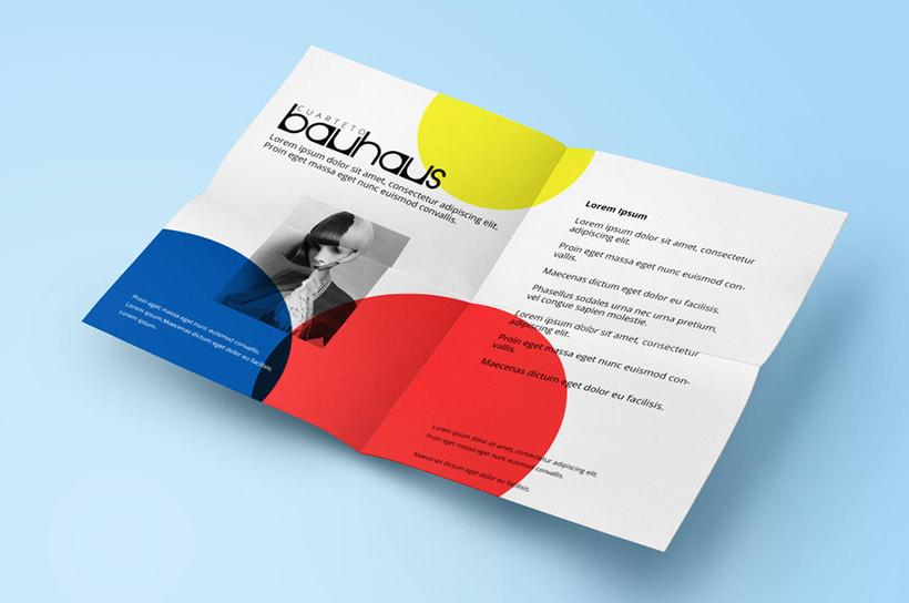 Cuarteto Bauhaus | Logotipo 5