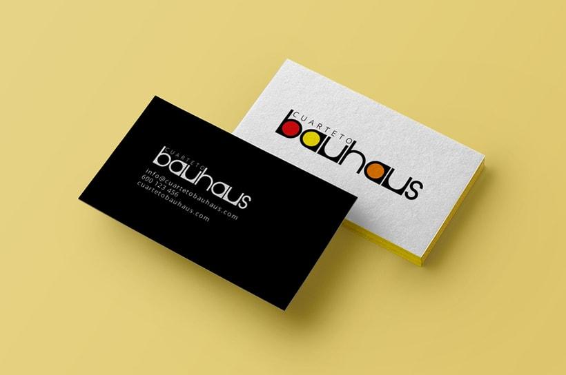 Cuarteto Bauhaus | Logotipo 3