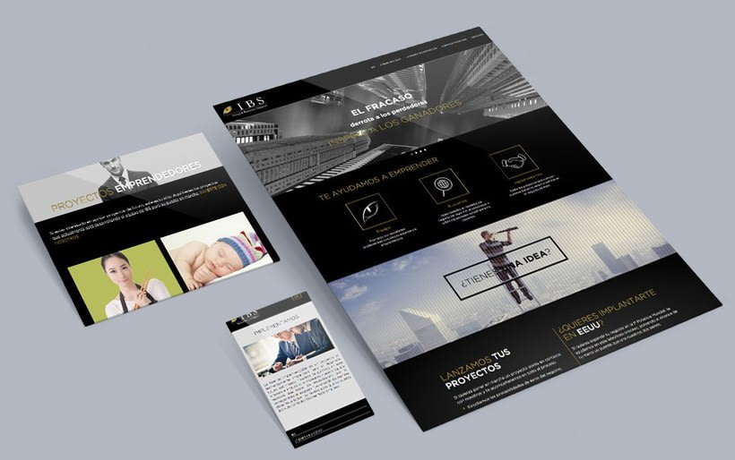 Nuevo proyectoIBS | Web Corporativa 1
