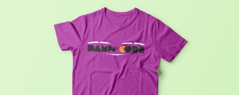Damn Code | Branding 3