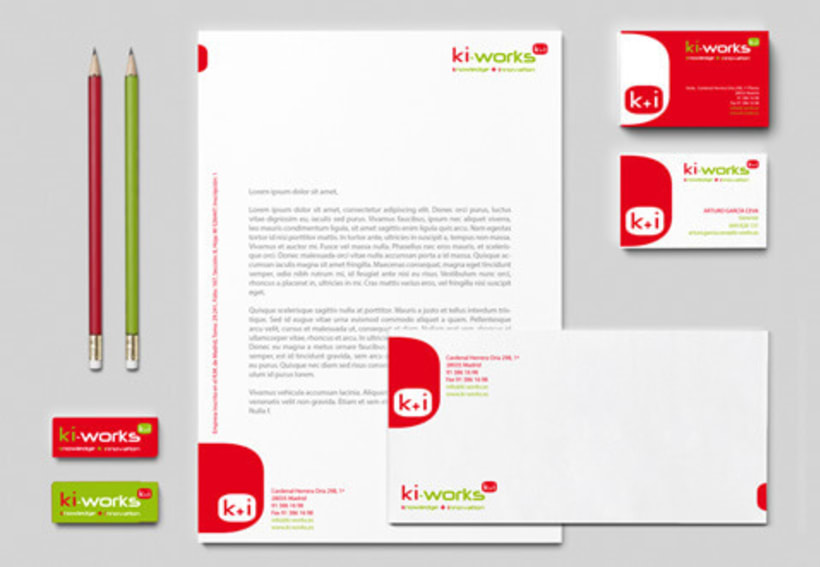 Imagen corportativa - Ki-works -1