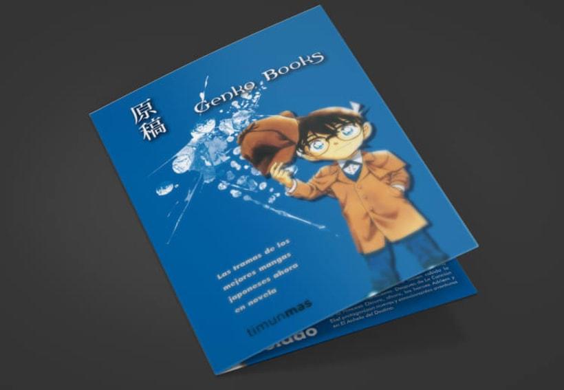 Folleto díptico - Genko Books -1