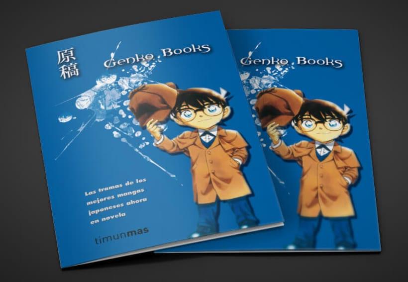 Folleto díptico - Genko Books 0