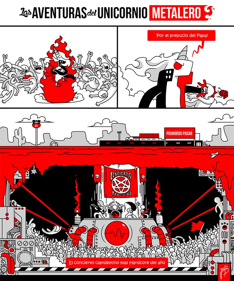 LAS AVENTURAS DEL UNICORNIO METALERO 9
