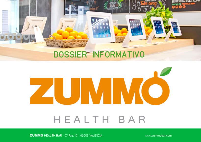 ZUMMO HEALTH BAR - Dossier informativo 0