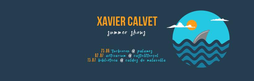 Cartel gira XAVIER CALVET 1