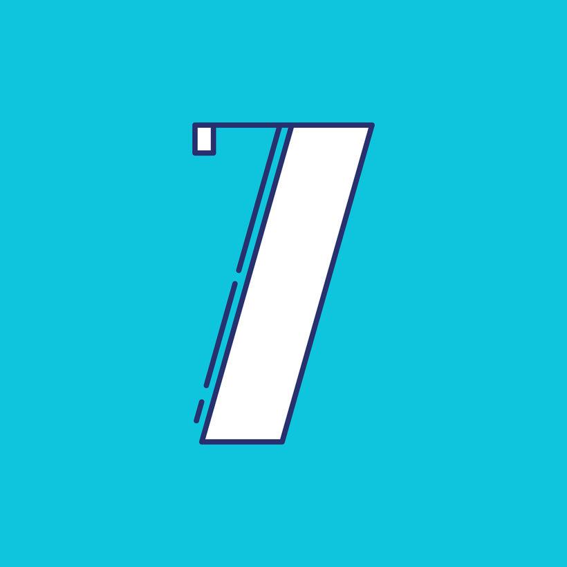 Números #36daysoftype 2016 9
