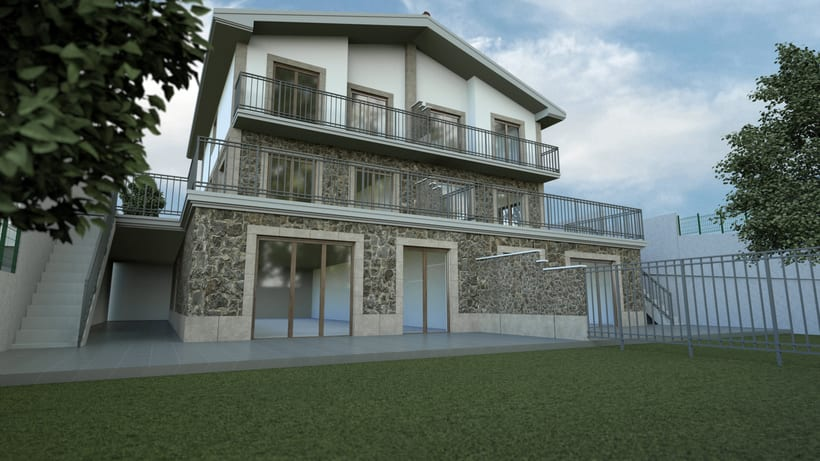 3d - new building development 3
